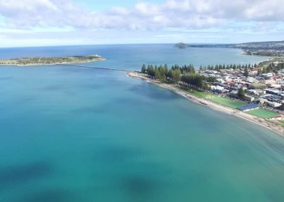 victor harbor aerial view