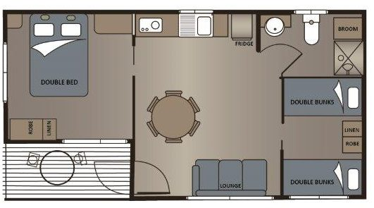 coorong floor plan victor harbor holiday park