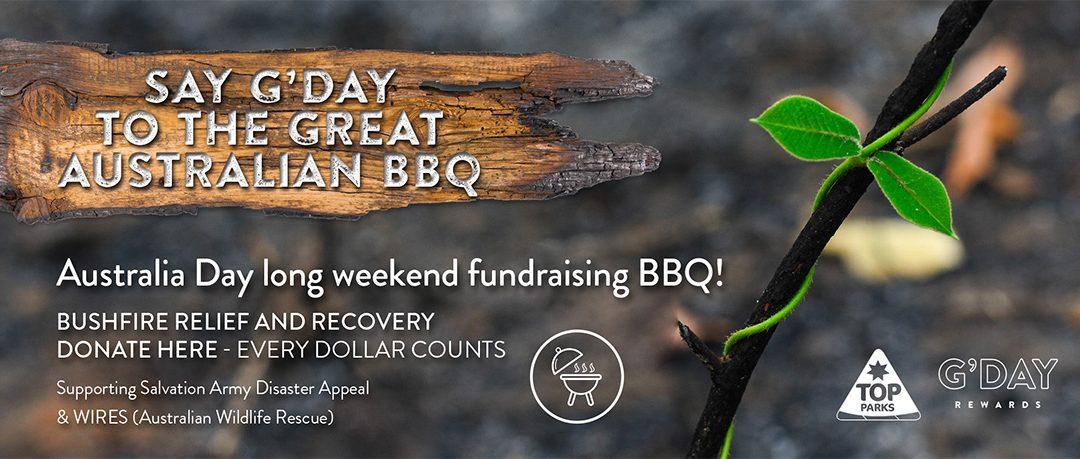 Say G'Day Bushfire Fundraiser