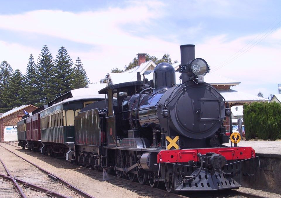 steam ranger train