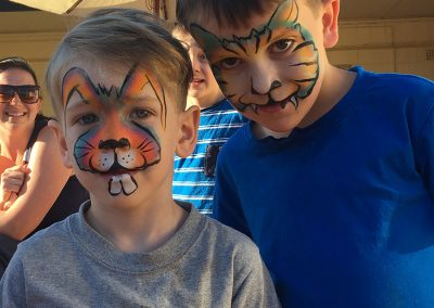 school holiday face painting victor harbor