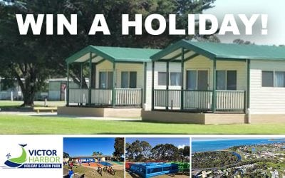 WIN a holiday at Victor Harbor Holiday & Cabin Park