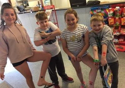 School Holiday Activities Airbrush Tatoo