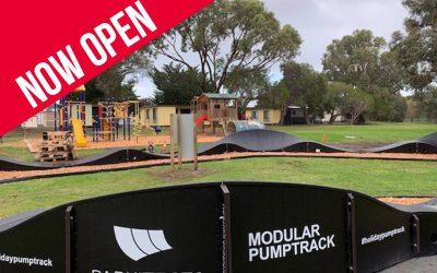 "NEW ""Pumptrack"" Bike Track – May/June 2019"
