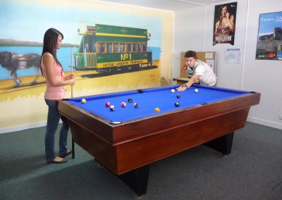 victor harbor holiday park games room