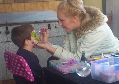 face painting victor harbor holiday park