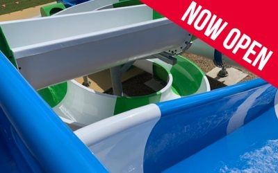 NEW Splash Harbor Waterslides!